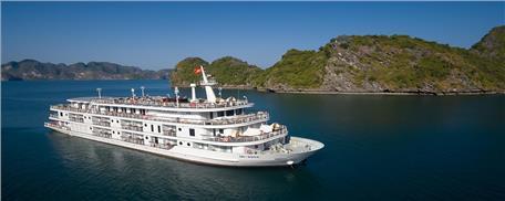 Du thuyền 5 Sao Paradise Elegance Hạ Long 2 ngày 1 đêm