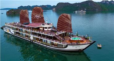Du thuyền 5 Sao Orchid Vịnh Lan Hạ 2 ngày 1 đêm