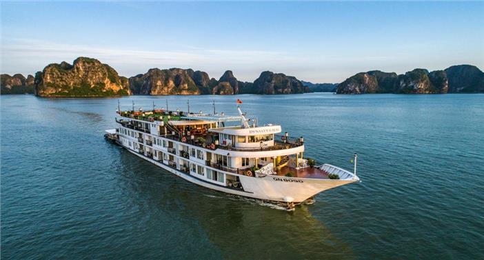 2N1Đ Trên Du Thuyền 5 Sao Dynasty Hạ Long