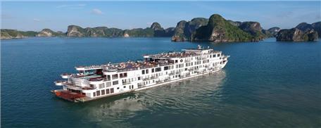 Du thuyền 5 Sao President Hạ Long 2 ngày 1 đêm